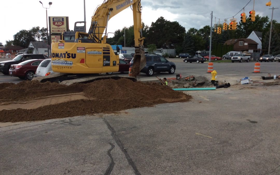 Euclid Water Main – City of Bay City